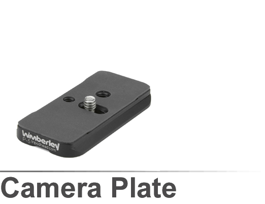 Wimberley P-5 Camera Body Plate